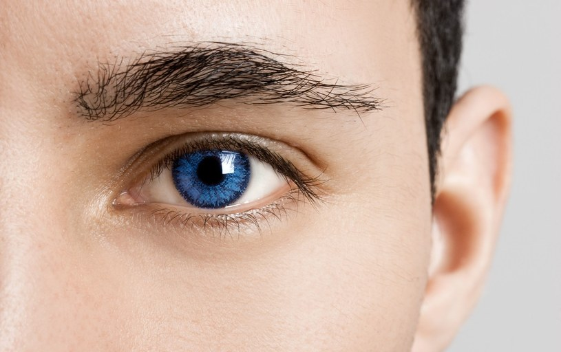 Osoby o niebieskich oczach są bardziej zagrożone bielactwem i czerniakiem /123RF/PICSEL