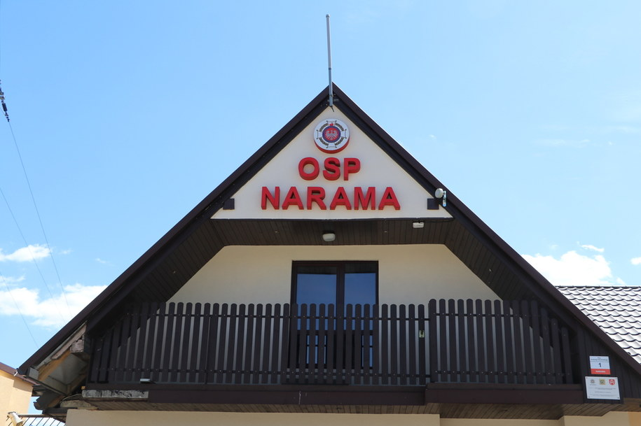 OSP Narama /Józef Polewka /RMF FM