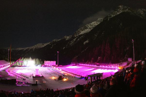 Ośrodek biathlonowy w Anterselvie /AFP