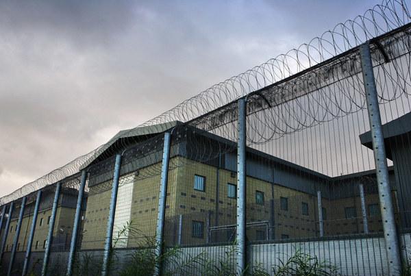 Ośrodek deportacyjny Harmondsworth /ADRIAN DENNIS /AFP