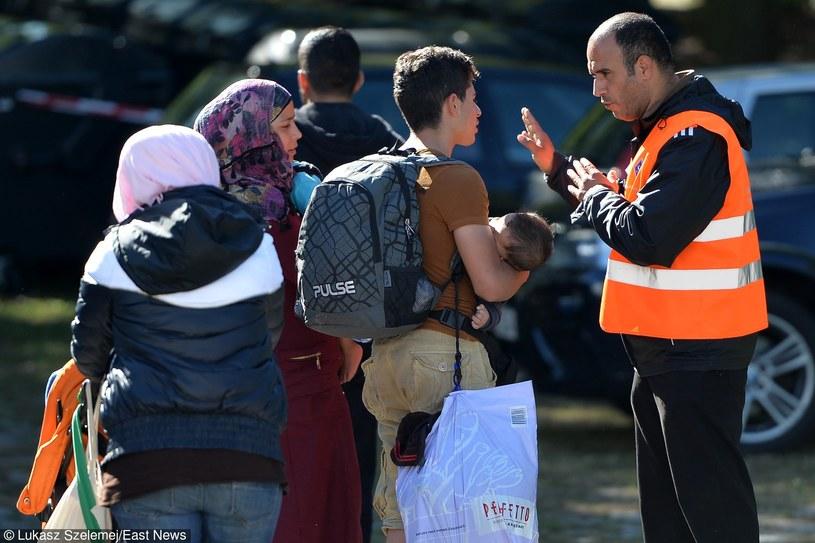 Ośrodek dla uchodźców w Niemczech /Łukasz Szelemej /East News