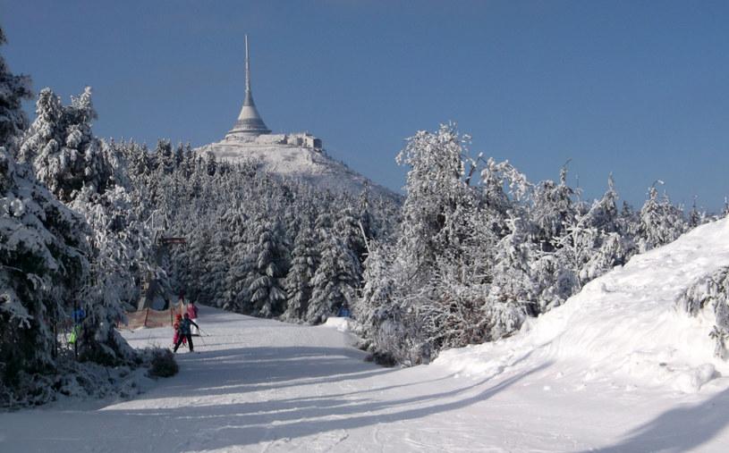 Ośrodek narciarski Jested /Jerzy Pawleta /Agencja FORUM