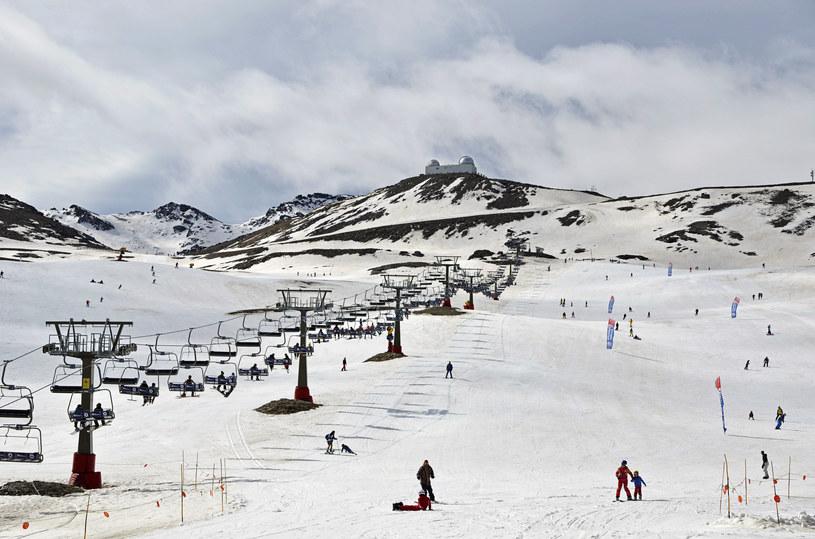 Ośrodek narciarski Sierra Nevada w Hiszpanii /123RF/PICSEL