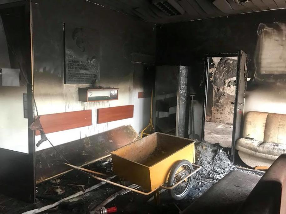 Ośrodek po pożarze /OREW Katowice-Giszowiec ·  /