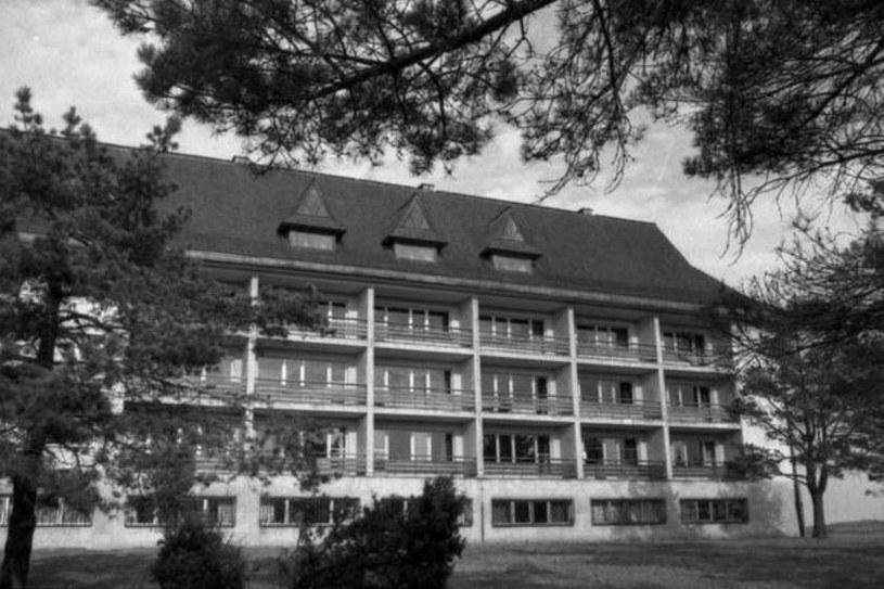 Ośrodek w Arłamowie w 1982 roku /Tadeusz Radkiewicz /PAP