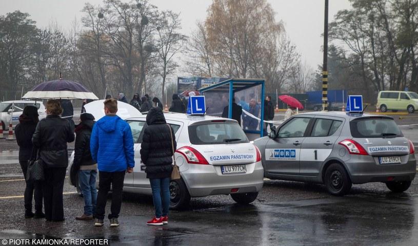 Ośrodki egzaminowania zostały sparaliżowane /Piotr Kamionka /Reporter