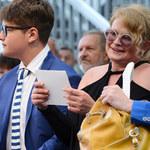 Ostałowska z synem na pokazie mody dla puszystych!