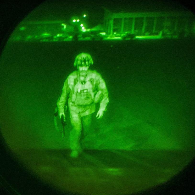 Ostatni amerykański żołnierz opuszcza Afganistan /PAP/EPA