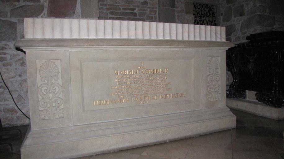 Ostatni królewski pogrzeb odbył się w katedrze na Wawelu 15 stycznia 1734. Król Jan III Sobieski i królowa Marysieńka na wieku spoczęli obok siebie w krypcie świętego Leonarda /Maciej Grzyb /RMF FM