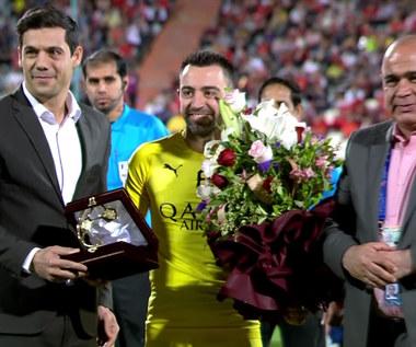 Ostatni mecz Xaviego. Hiszpan przechodzi na piłkarską emeryturę. Wideo