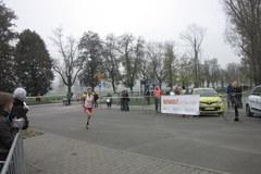 Ostatni odcinek krakowskiego półmaratonu