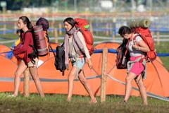 Ostatni pielgrzymi opuszczają krakowskie Błonia