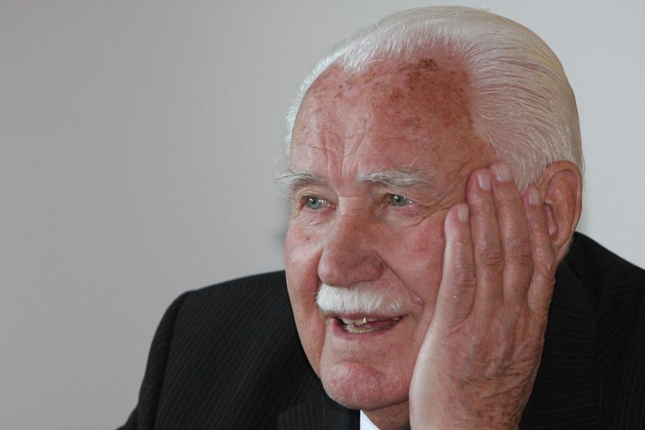 Ostatni prezydent RP na uchodźstwie Ryszard Kaczorowski / Artur Reszko    /PAP