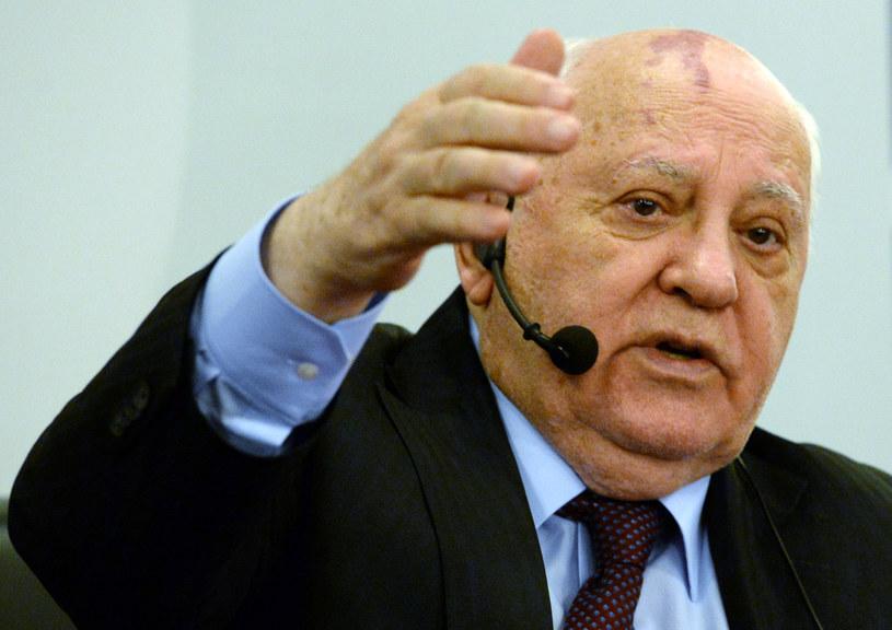 Ostatni przywódca Związku Sowieckiego Michaił Gorbaczow /VASILY MAXIMOV /AFP