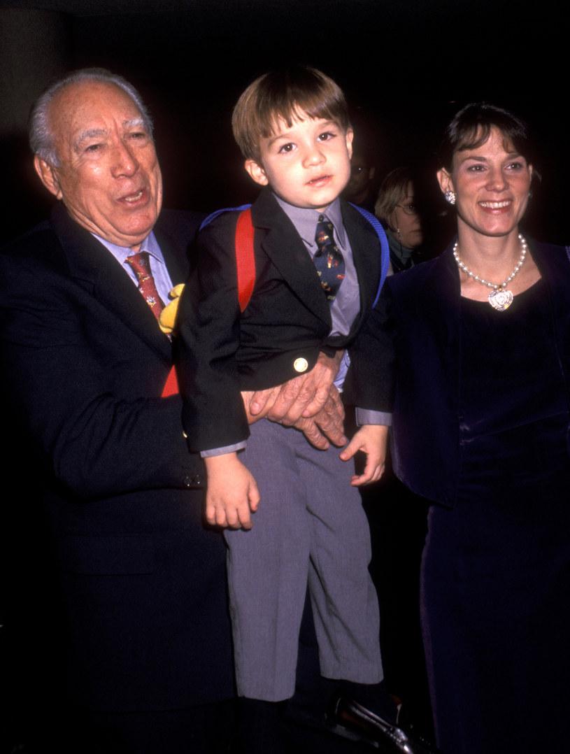 Ostatni syn Anthony'ego Quinna był od niego młodszy o 81 lat! / Ron Galella/Ron Galella Collection  /Getty Images