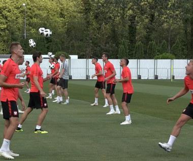 Ostatni trening Orłów przed meczem z Kolumbią. Wideo