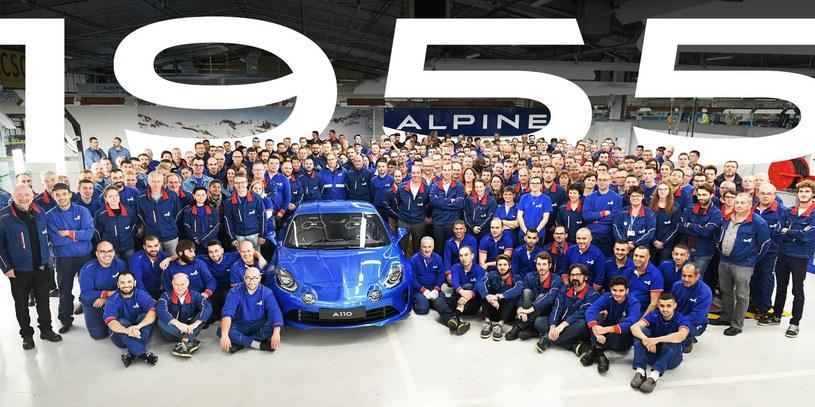 Ostatni z wyprodukowanych egzemplarzy Alpine A110 Premiere Edition /