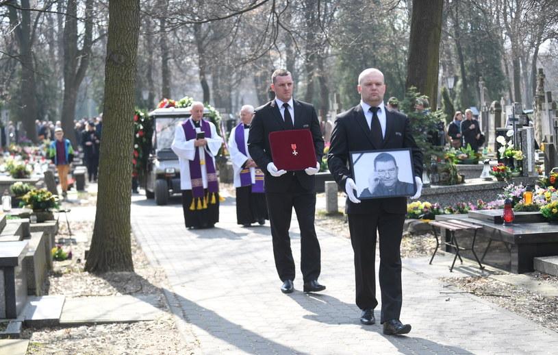 Ostatnia droga Pawła Zarzecznego /Bartłomiej Zborowski /PAP