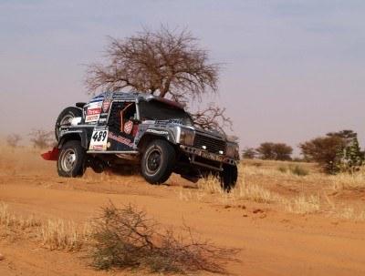 Ostatnia nadzieja DEXTTT na trasie Dakaru /materiały prasowe