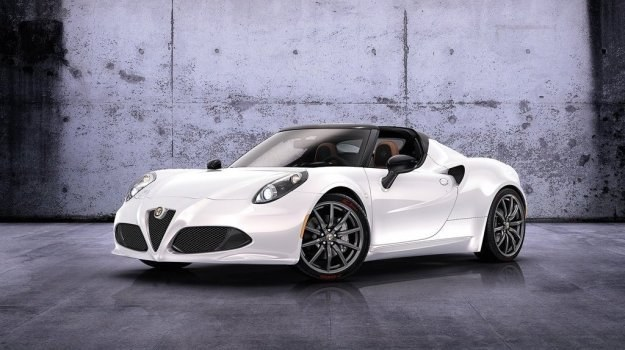Ostatnia nowość Alfy - prototypowa 4C Spider. /Alfa Romeo