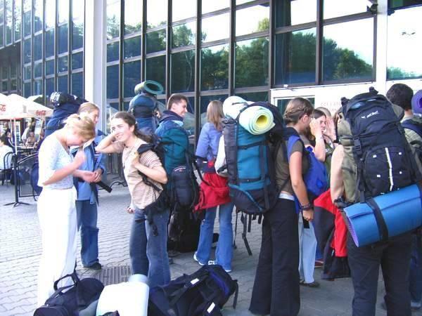 Ostatnie chwile na lotnisku w Balicach /INTERIA.PL