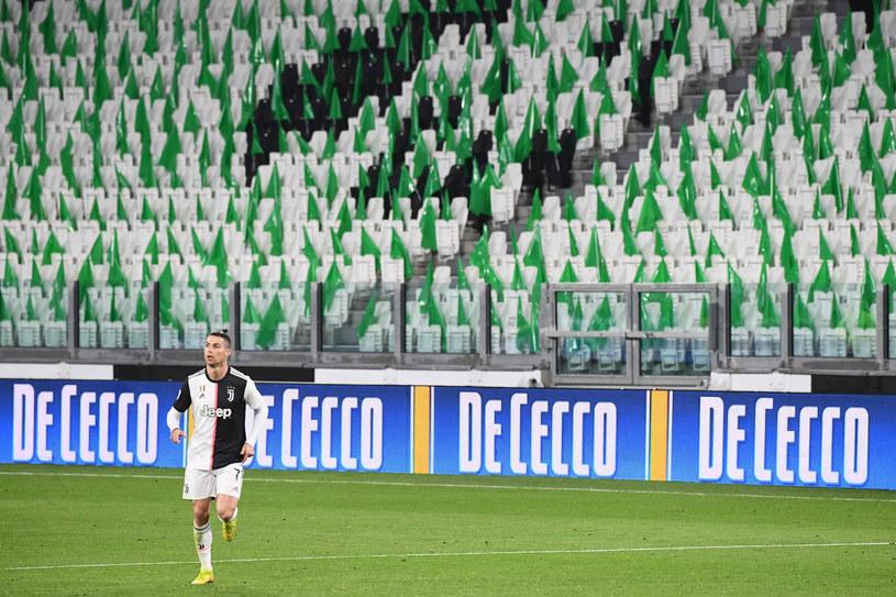 Ostatnie derby Włoch zostały rozegrane bez udziału publiczności /VINCENZO PINTO /East News