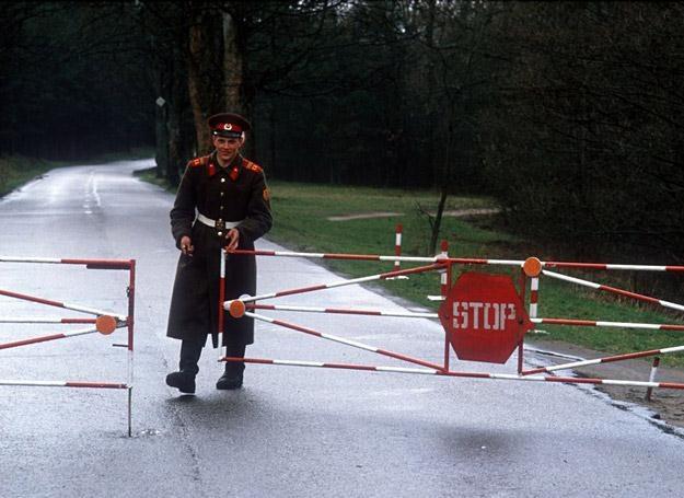 Ostatnie dni pobytu wojsk radzieckich w Bornem Sulinowie, 1990 r. /fot. W. Pniewski
