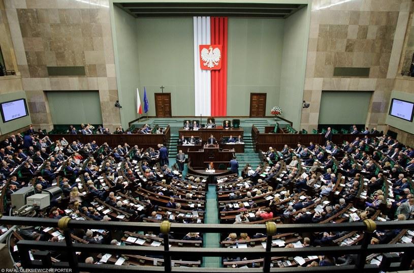 Ostatnie posiedzenie Sejmu /Rafał Oleksiewicz /Reporter