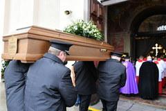Ostatnie pożegnanie Romualda Lipki