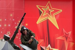 Ostatnie przygotowania do moskiewskiej defilady 9 maja