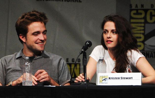Ostatnie wspólne zdjęcia - Robert Pattinson i Kristen Stewart 12 lipca /Kevin Winter /Getty Images