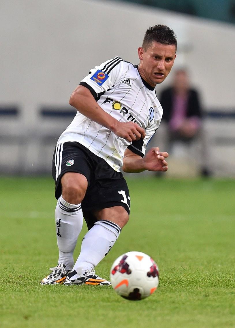 Ostatnim polskim klubem Piecha była Legia Warszawa /Mateusz Jagielski /East News