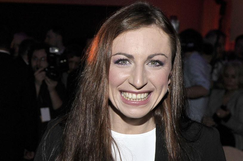 Ostatnio Justyna Kowalczyk ma wiele powodów do uśmiechu /Jacek Kurnikowski /AKPA
