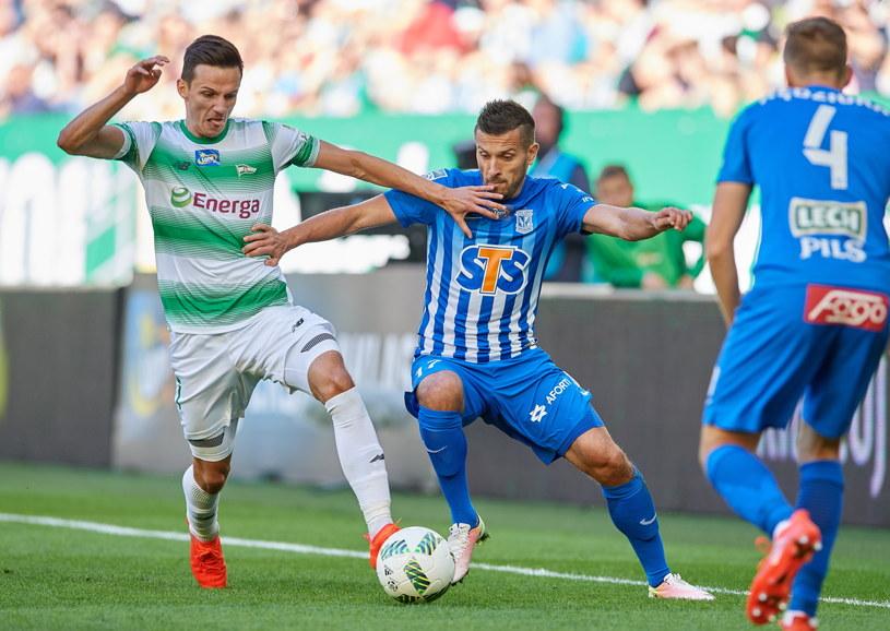 Ostatnio Lech przegrał w Gdańsku z Lechią 1-2 /Fot. Adam Warżawa /PAP