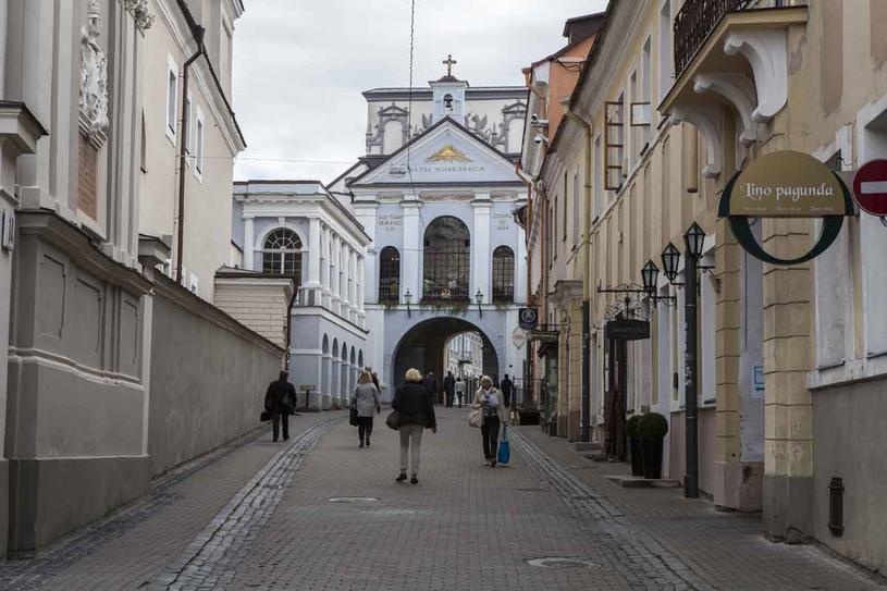 Ostrobramska  Madonna od wieków chroni Wilno i jego mieszkańców od nieszczęść. /123RF/PICSEL