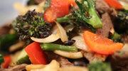 Ostry gulasz wołowy z soją