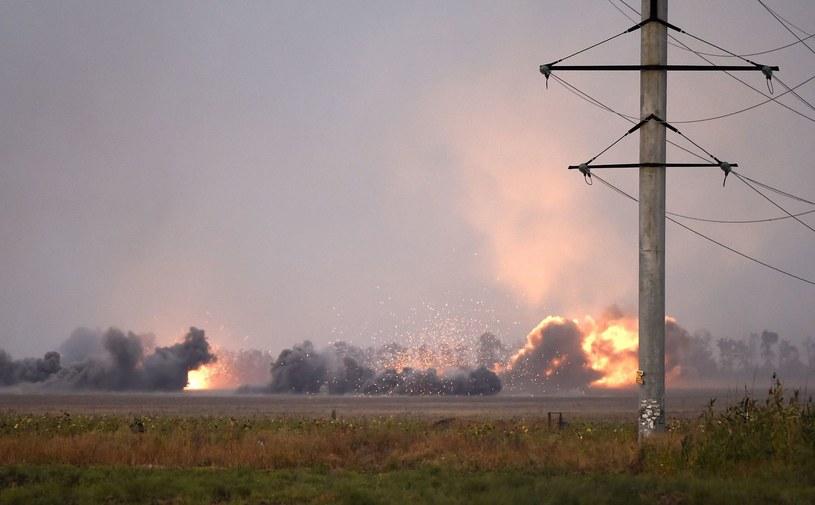 Ostrzał Mariupola, wrzesień 2014, zdjęcie ilustracyjne /AFP