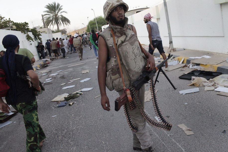 Ostrzał rakietowy Trypolisu: Zginęło dwóch cywilów /Marco Salustro /PAP/EPA