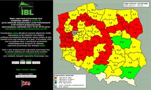Ostrzegają: W 12 województwach najwyższy stopnień zagrożenia pożarowego