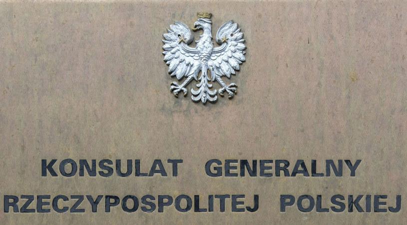 Ostrzelano polski konsulat /Andrzej Sidor /Agencja FORUM