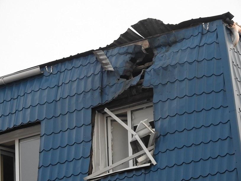 Ostrzelany polski konsulat na Ukrainie /OLENA LIVITSKA /PAP/EPA