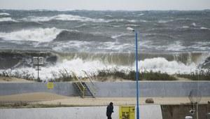 Ostrzeżenia IMGW. Na Bałtyku sztorm
