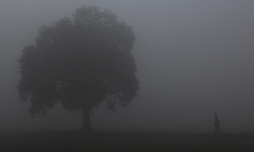 Ostrzeżenia przed silną mgłą /Rakesh BAKSHI /AFP