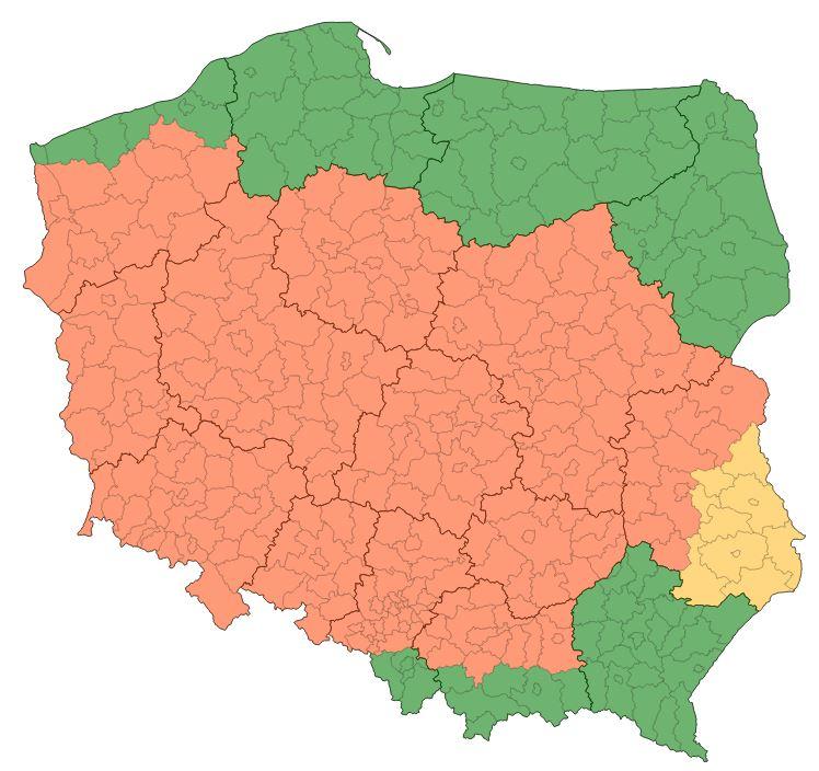 Ostrzeżenia wydane przez IMGW /IMGW/pogodynka.pl /Materiały prasowe