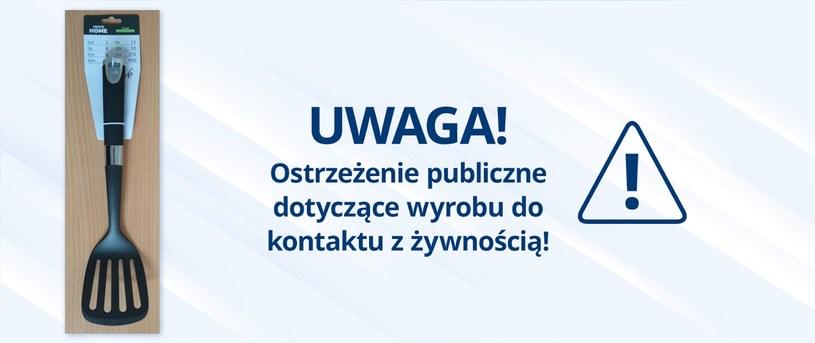 Ostrzeżenie GIS /gov.pl/web/gis /