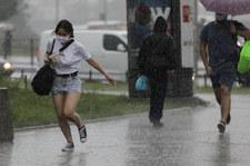 Ostrzeżenie IMGW: Intensywne deszcze w pięciu województwach