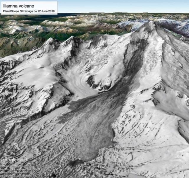 Osuwisko ma około 6 km długości i ponad 2 km szerokości /materiały prasowe