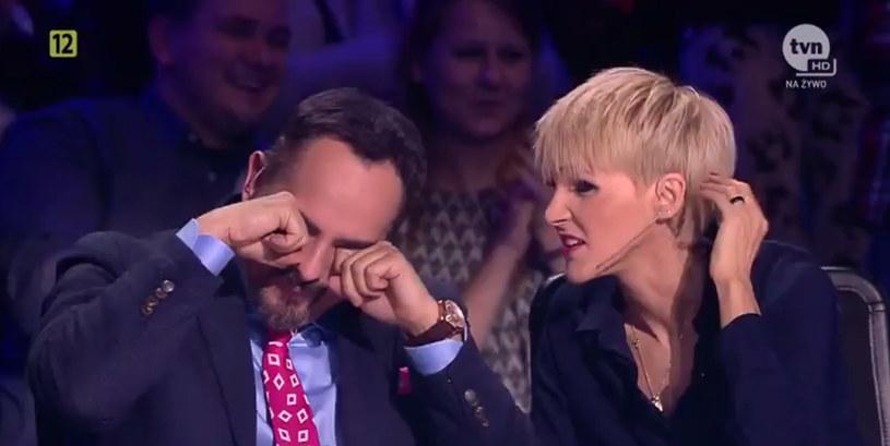 """Oświadczyny w """"Mam talent""""! /TVN"""