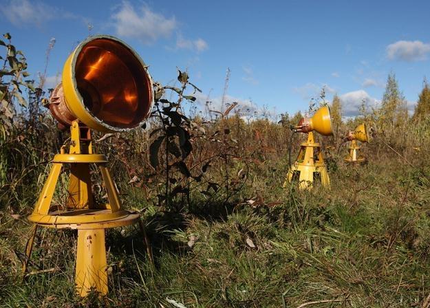 Oświetlenie naprowadzające na smoleńskim lotnisku / fot. S. Kowalczuk /East News