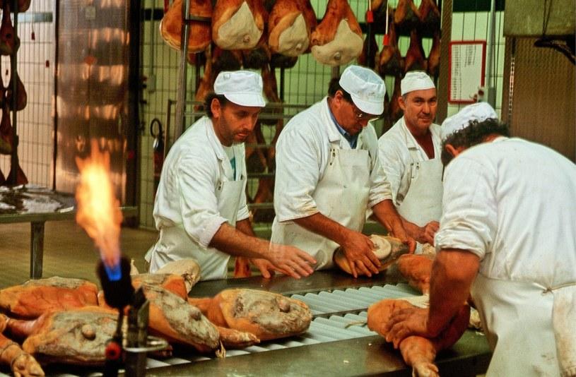 Oszustwo dotyczy 10 procent całej rocznej produkcji szynki gatunku San Daniele we Włoszech; Zdj. ilustracyjne /Piotr Płaczkowski /Reporter